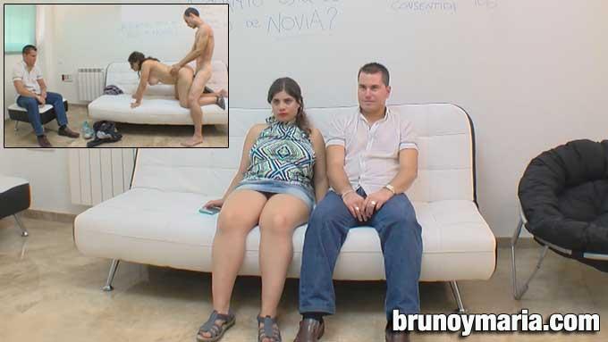 Brunoymaria mi mujer maria me pide un joven para follarlo - 2 10