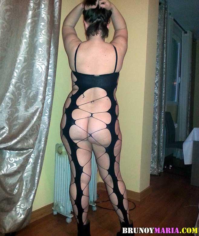 Brunoymaria la zorra de mi mujer con un camarero en madrid - 1 part 3